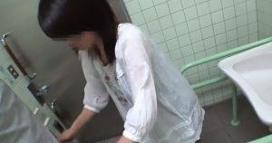 16545 300x158 - 公衆トイレに人妻を連れ込んで子を産んだユルマンを貸してもらおう♡『あっ旦那のより気持ちいいでーす』♡ピース★
