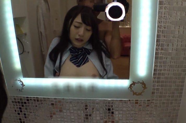 048949847899 - 【JK制服えっち】蕩けそうな白い肌のJK美少女とイケメンカメラマンのイチャラブ濃厚セックス三昧♡『気持ちいいトコ当たってる///』